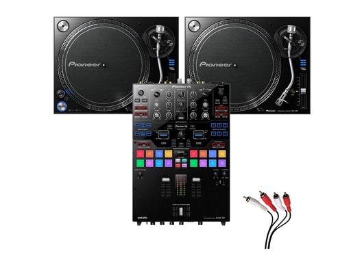 Pioneer PLX-1000 and Pioneer DJM-S9 Mixer Package