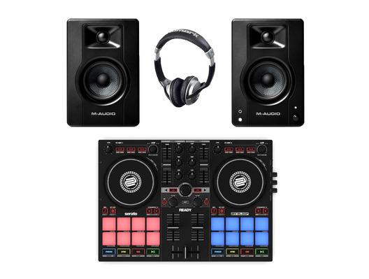 Reloop Ready + M-Audio BX3 w/ Headphones