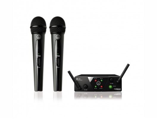 AKG WMS40 Mini Pro 2 Dual Wireless Microphone Set